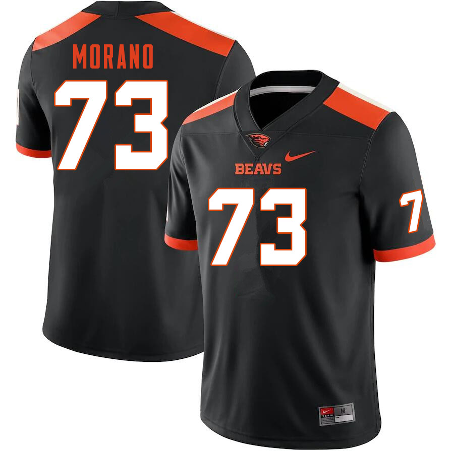Men #73 Tyler Morano Oregon State Beavers College Football Jerseys Sale-Black