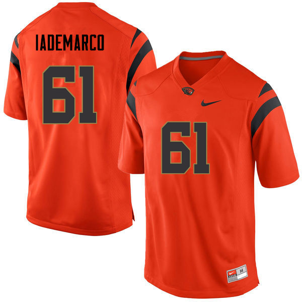 Men Oregon State Beavers #61 Andrew Iademarco College Football Jerseys Sale-Orange