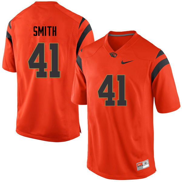 Men Oregon State Beavers #41 Shemar Smith College Football Jerseys Sale-Orange