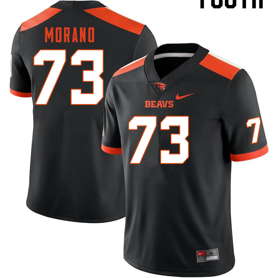 Youth #73 Tyler Morano Oregon State Beavers College Football Jerseys Sale-Black